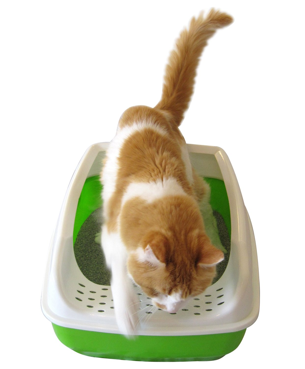 how to make cat litter box not tip over