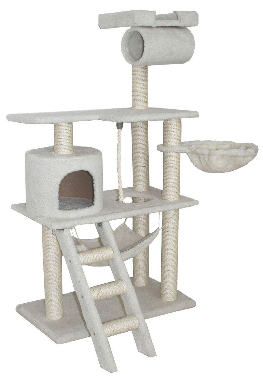fancy kitty fancy kitty climber tree  hammock   ladder   cat condo   slash pets  rh   slashpets