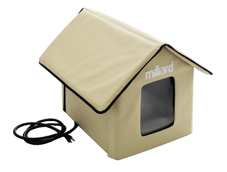 Milliard Portable Heated Outdoor Pet House