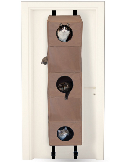 cat tree door mount