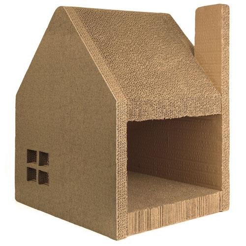Jumbl Cathouse Amp Cat Scratcher Station Slash Pets