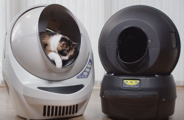 Litter Robot Open Air Reduces Odor And Saves It Also Has An Automatic Night Light More Information Is Available Here
