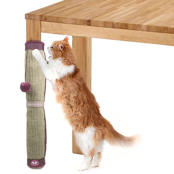 United Pets Cat Scratcher Scratching Post For Tables