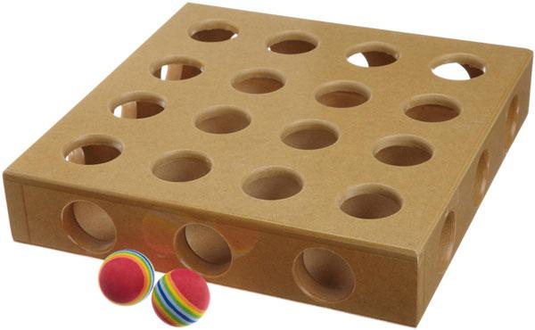 Peek A Prize Cat Toy Box