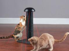 Pawaboo Cat Scratcher Lounge Slash Pets