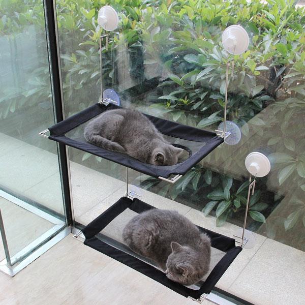 Mewtogo Cat Window Perch Slash Pets
