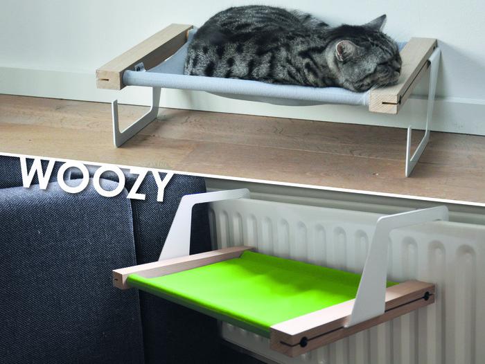 Dog Treat Dispenser >> WOOZY: Cat Hammock / Bed For Your Radiator - Slash Pets