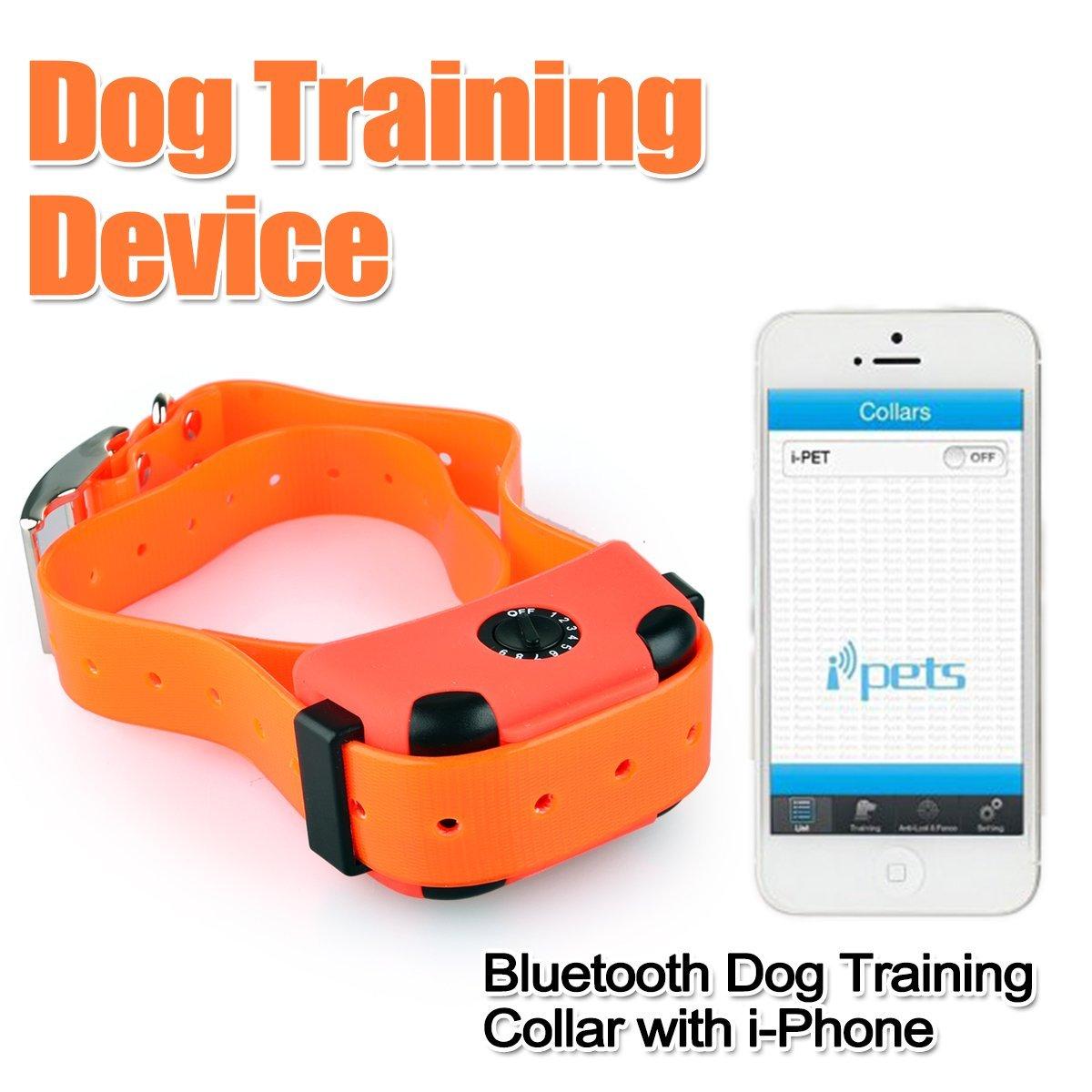 Ipets Dog Training Collar W Iphone Support Slash Pets