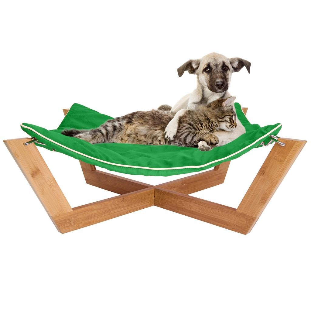 Jumbl Bamboo Cat Dog Hammock Slash Pets