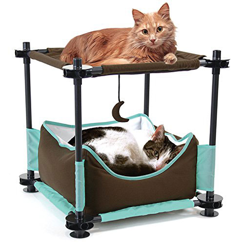 Kitty City Steel Claw Sleeper Build Your Own Cat