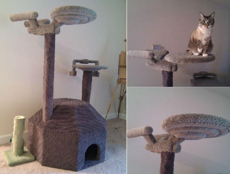 Star Trek Cat Tree Slash Pets