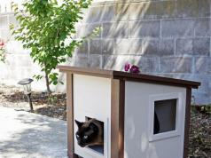 Trixie Wooden Outdoor Cat Sanctuary Slash Pets