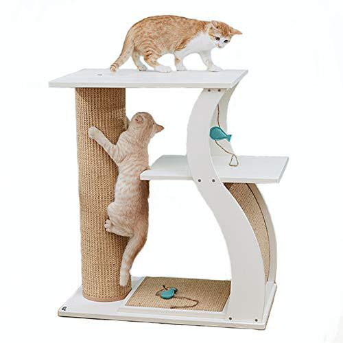 Seeu Multi Level Cat Tree Slash Pets
