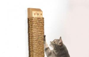 Treeline Design Wall Mounted Cat Scratching Post
