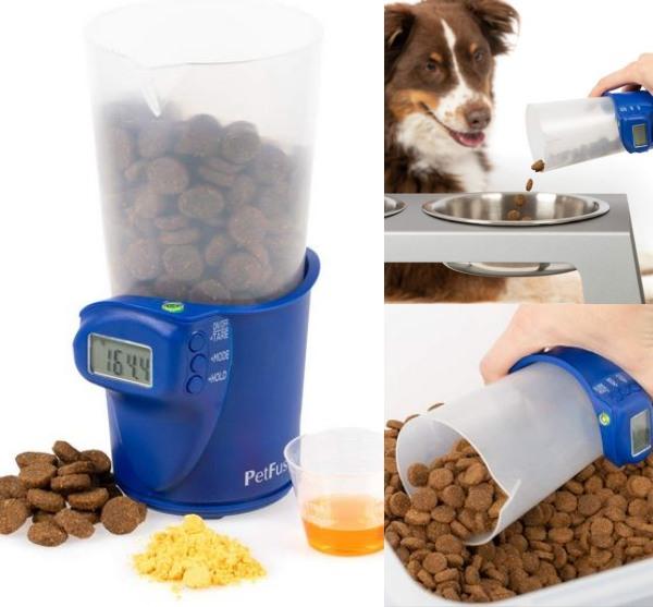 Petfusion Digital Dog Cat Food Scale Slash Pets